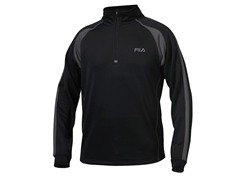 Fila Match 1/4 Zip - Black (L/XL)