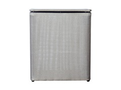 Standard Upright Hamper Silver