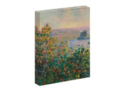 Monet Flower Beds at Vetheuil, 1881 (2 sizes)