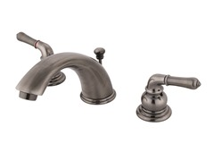 Widespread Faucet, Nickel