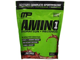 MusclePharm Amino 1 Supplement, Fruit Punch, 60sv.