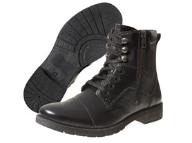 Men's Vito Rossi Tex Boots, Black