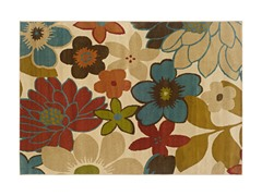 Addison Area Rug Floral - 5 Sizes