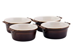 6oz  Ramekin 4pc Set - Chocolate