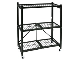Origami 3-Shelf Collapsible Rack, 2-Pack