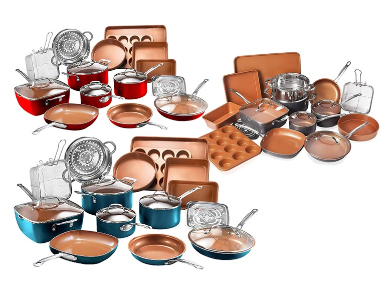 Gotham Steel 20-PC Bakeware and Cookware Set