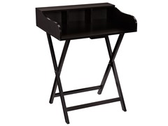 SEI Folding Craft/Student Desk - Black