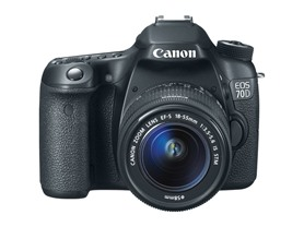 Canon EOS 70D DSLR Kit with 18-55mm Lens