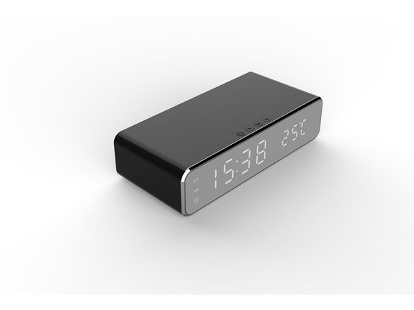 Image of Wireless Charging Digital Alarm Clock