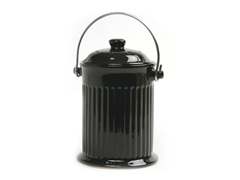 Countertop Compost Pail - Black