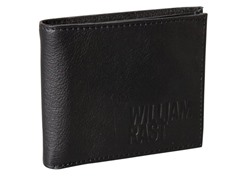 William Rast Slimfold Wallet with Wing, Black