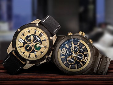 Many Different Chronograph Watches