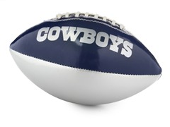 Dallas Cowboys Youth Size Soft Football