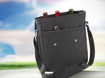 Wine Messenger Bag