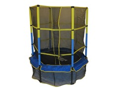 "55"" Kid-Friendly Trampoline & Enclosure"