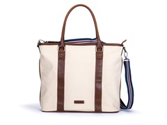 AVI-8 Men's Canvas Tote Bag, White