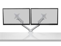 "Dual-Display Desktop Mount - 17-27"" Displays"