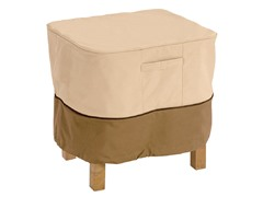 Ottoman/Table Cover, 21 by 21 by 17-Inch