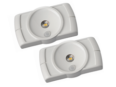 Wireless LED Cabinet Lights White 2-Pack
