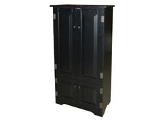 Tall Cabinet - Black