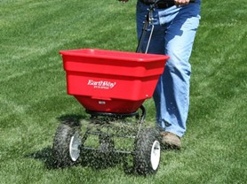 Earthway Commercial 100-Pound Push Spreader