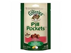 Greenies Feline Salmon Pill Pockets 3pk
