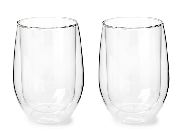 double walled glasses walled insulated wine glasses 8 10769