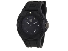 Luminox Rubber Quartz, Black Out