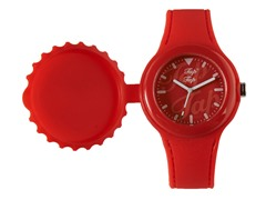 Red Silicone Watch