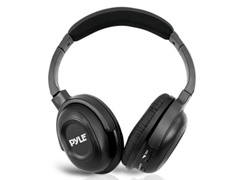 Pyle UHF Wireless Headphones w/ iPhone Dock