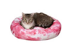 Slumber Pet™ Cozy Kitty Tie Dye Cat Bed