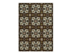 Transitional Brown Rug (5-Sizes)
