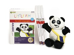 Arabic for Kids: Language Box Set Volume I w/Panda Plush