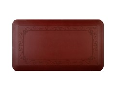 Smart Step 3' Antifatigue Mat - Burgundy