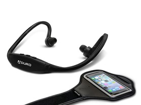 Aduro Sport Wireless Stereo BT Headset & Arm Band