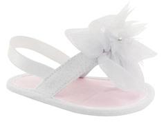 White Glitter Sandals (Infant 0-2)