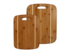 2-Piece Stripe Cutting Board Set