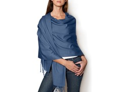 Kitara  Pashmina Shawl French Blue