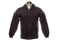 Full Zip-Up Hoodie - Navy