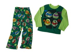 TMNT 2-Piece Fleece Set (2T)