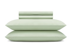 600TC Sheet Set - Green - Twin or Full