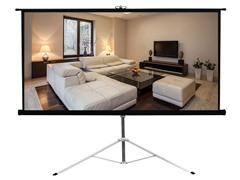 "Pyle Floor Standing Projector Screen 59.8""x79.9"""