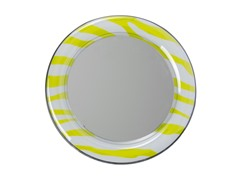 Mirror - Lime Zebra
