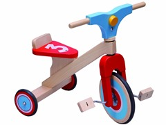 Dushi 3-Wheel Wooden Bike