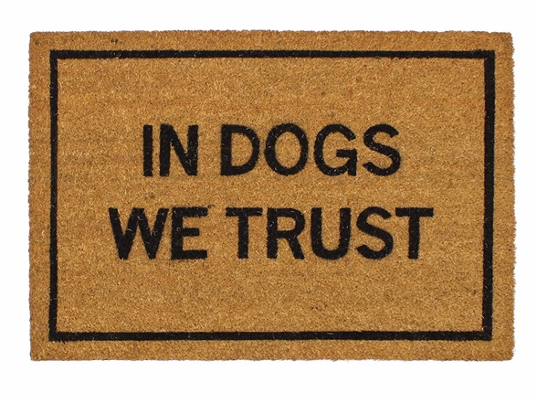 Clever doormats in dogs we trust - Clever doormats ...