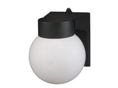 Outdoor Wall Lantern, Black 18W