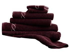 100% Egyptian Cotton 6-Piece Embroidered Towel Set