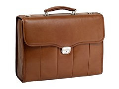 North Park Leather Executive Briefcase