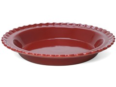 Chantal Classic Pie Dish Red