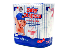 Cincinnati Reds Diapers (160-192ct)